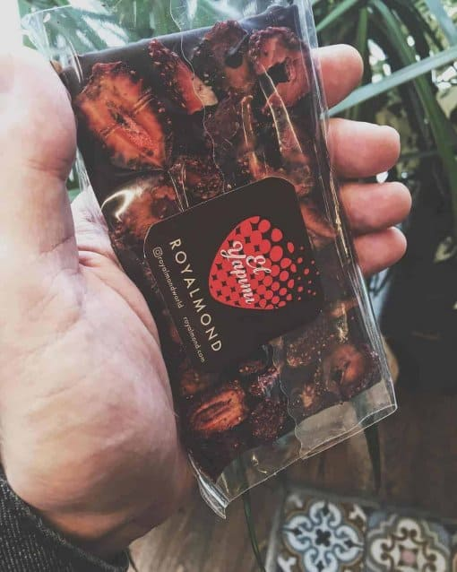 Royalmond Bitter 🍓(5 li paket) | Çilekli Çikolata