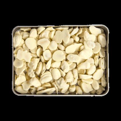 Kimyasal Koruyucu İçermeyen Beyaz Çikolatalı Bademli Atıştırmalık